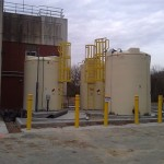 Double Walled High Density Cross-Linked Polyethylene Tanks
