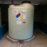 Full Drain Molded Outlet Polyethylene Tank